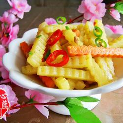 花式孜然土豆条的做法[图]