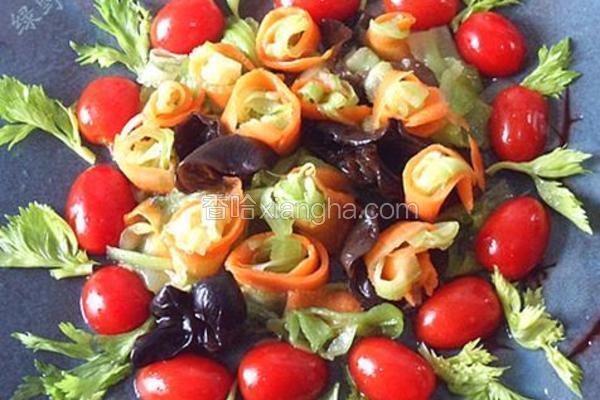 椒油炝芹菜