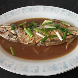 酱焖马面鱼的做法[图]