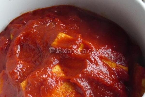 西红柿炖豆腐的做法[图]
