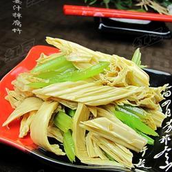 姜汁拌腐竹的做法[圖]