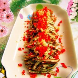 凉拌卤味豆腐丝的做法[图]