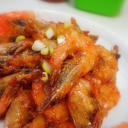 泰式香辣蝦的做法[圖]