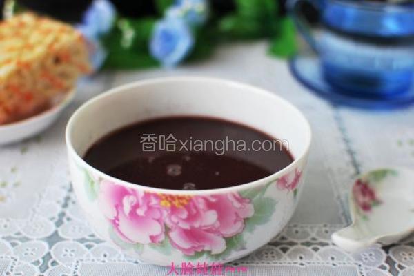 黑米燕麦粥