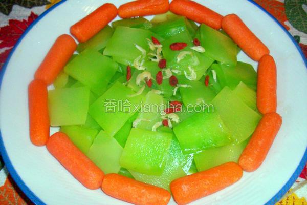 凉拌莴苣笋