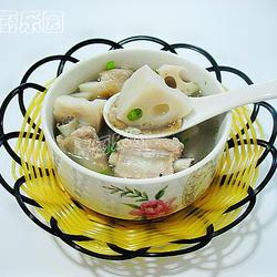 菜脯蓮藕煲排骨的做法[圖]