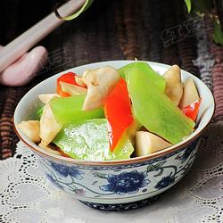 蚝油莴笋炒鸡腿菇的做法[图]
