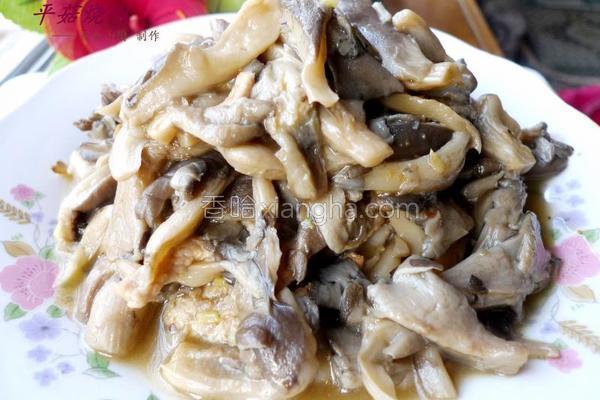 平菇烧肉的做法