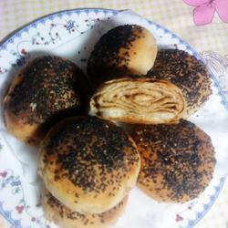 油酥麻酱烧饼的做法[图]