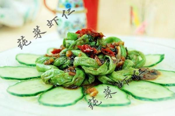 鱼香豇豆圈