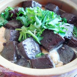 羊血豆腐煲的做法[图]