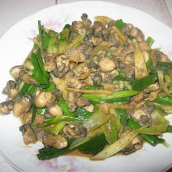 蒜香牡蛎的做法[图]