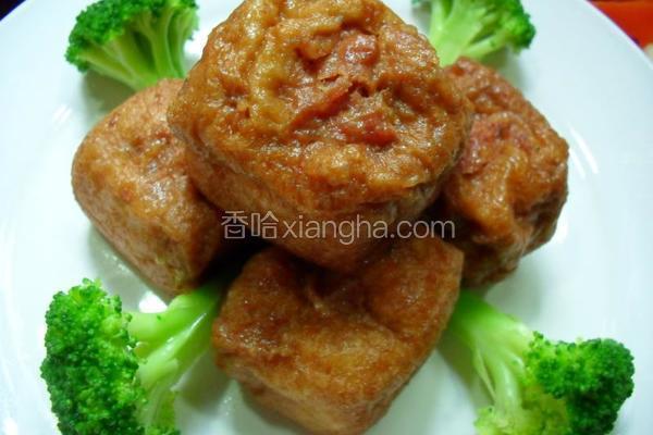 油豆腐嵌肉