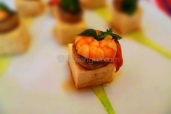 鲜菇烩豆腐