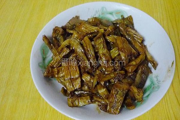 咸干笋炒肉