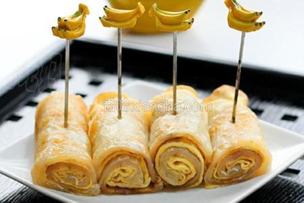 葱香鸡蛋卷饼