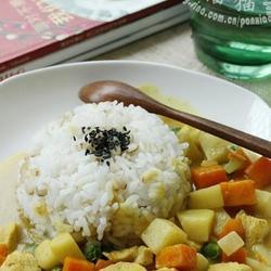 时蔬咖喱鸡的做法[图]