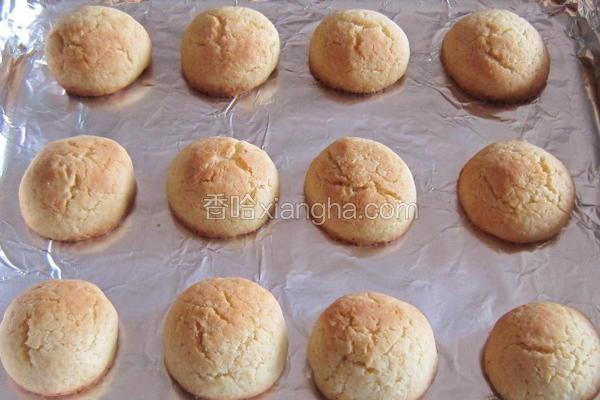 椰香小饼干