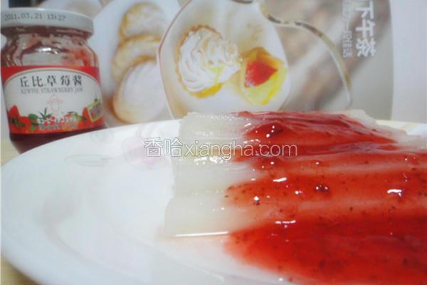 草莓酿山药