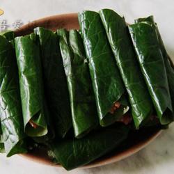 胡椒叶卷肉的做法[图]