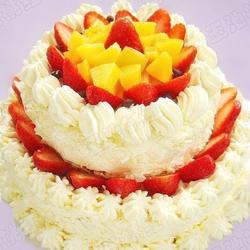 双层草莓奶油蛋糕的做法[图]