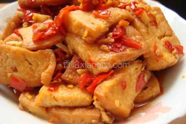 家常香辣豆腐