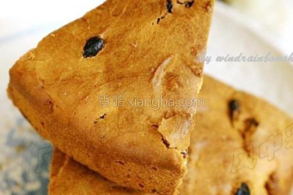 葡萄干面糊面包的做法