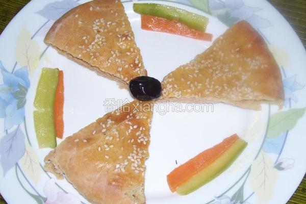 萝卜汁发面饼