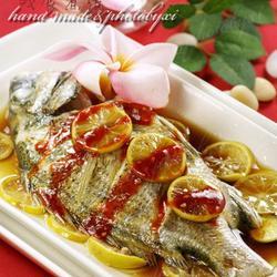 泰式柠檬蒸鱼的做法[图]
