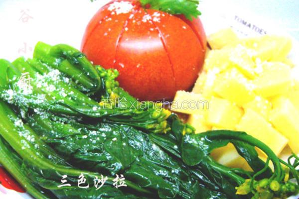 中式三色沙拉