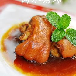 卤水猪蹄的做法[图]