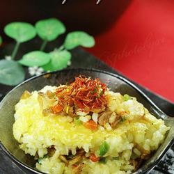 藏红花虾干饭的做法[图]