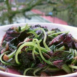 清炒苋菜的做法[图]