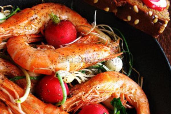 香蒜干锅虾