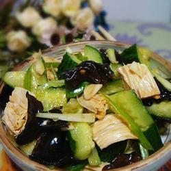 腐竹木耳拌黃瓜的做法[圖]
