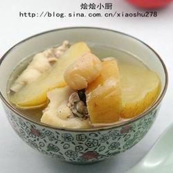 苹果川贝鸡汤的做法[图]