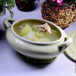 冬瓜兔肉汤的做法[图]