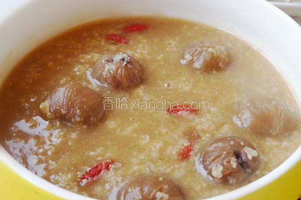 桂圆燕麦粥