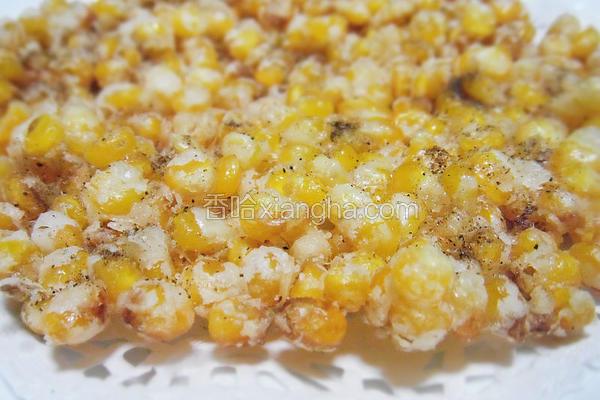 椒盐黄金玉米烙