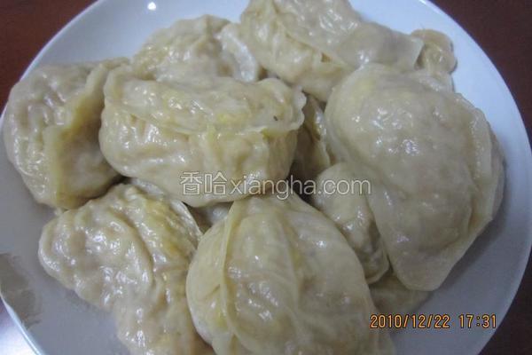 冬至饺子菜饺子