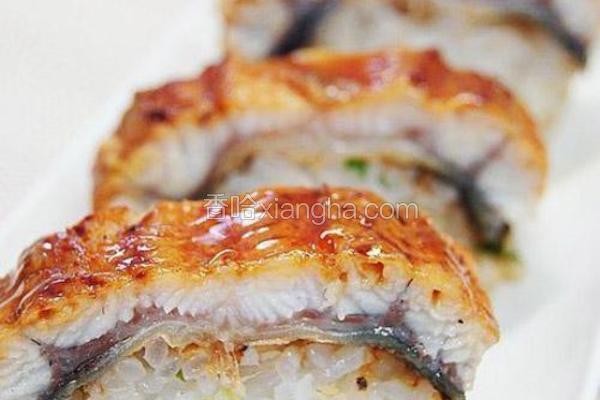 日式烤鳗鱼寿司