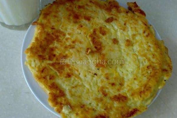 香煎土豆丝饼