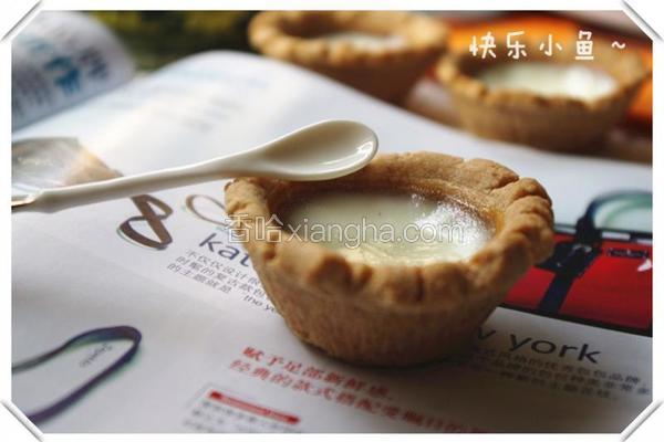 玉桂饼干蛋白挞