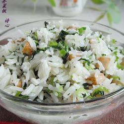 芋香芥菜饭的做法[图]