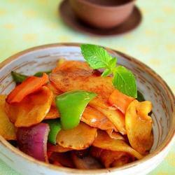 香辣干锅土豆片的做法[图]