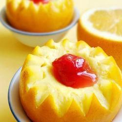 甜橙蒸蛋的做法[图]