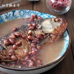红豆鲫鱼汤的做法[图]