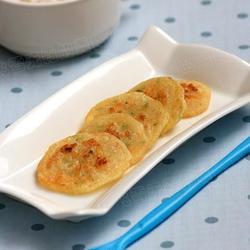 银鱼小煎饼的做法[图]