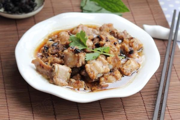 豆豉姜汁蒸排骨