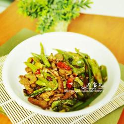青椒豆豉肉丝的做法[图]